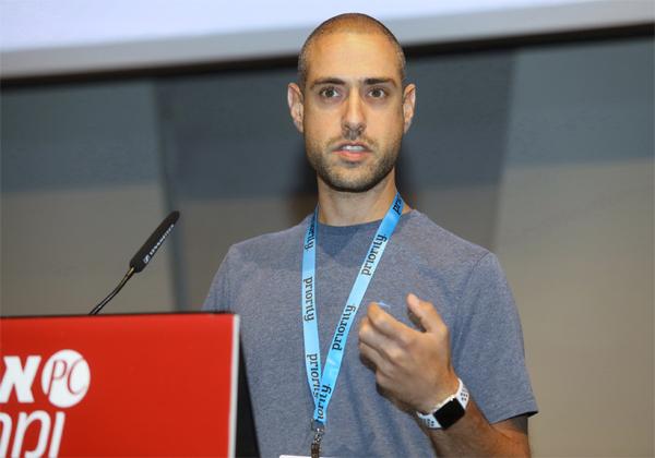 עוז לוי, מנהל טכנולוגיות ראשי של מטריקס BI. צילום: ניב קנטור