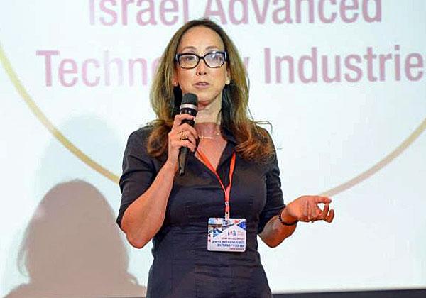 """עו""""ד קרין מאיר רובינשטין, מנכ""""לית ונשיאת האיגוד הישראלי לתעשיות מתקדמות - IATI. צילום: ניר שמול"""
