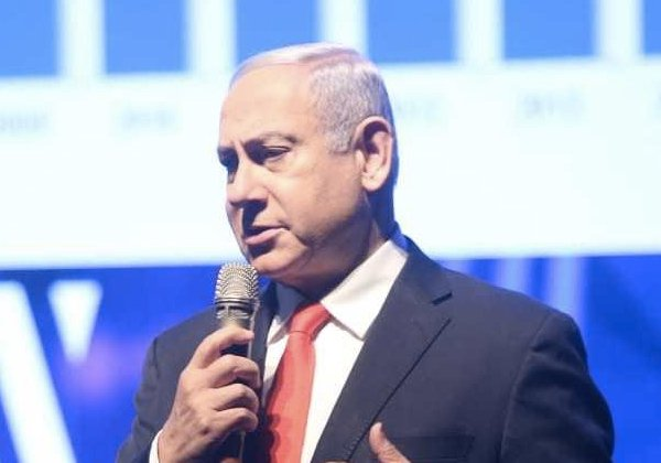 ראש הממשלה, בנימין נתניהו, בשבוע הסייבר הלאומי באוניברסיטת תל אביב. צילום ארכיון: חן גלילי