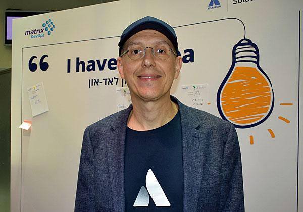 ולאד קאוולקנטי, מנהל שותפים באזור EMEA באטלסיאן. צילום: אלי מנדלבאום