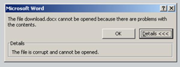 השלב השני – בקשה שחזור המסמך ושתילת תוכנת הנוזק. צילום מסך