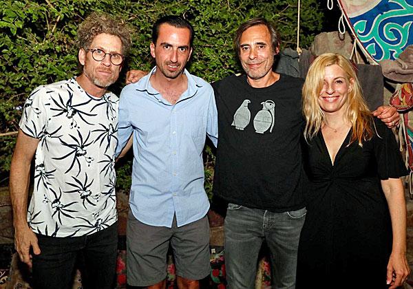 """מימין: דנה ברגר, חמי רודנר, אלי שקד, מנכ""""ל VMware ישראל, וירמי קפלן. צילום: יח""""צ"""