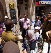 ליהנות גם בלי לראות: אפליקציה חדשה מנגישה לעיוורים סיורים בעיר העתיקה