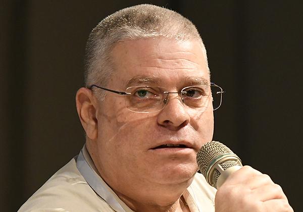 """ד""""ר הראל מנשרי, מרצה ומנהל מרכז הסייבר ב-HIT, ומרצה באוניברסיטת בר אילן. צילום: ניב קנטור. צילום: אלעד גוטמן"""