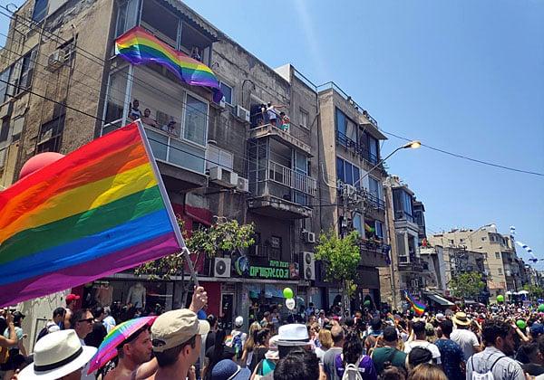 ממשיכים במצעד הגאווה של ההיי-טק. צילום ארכיון: יניב הלפרין