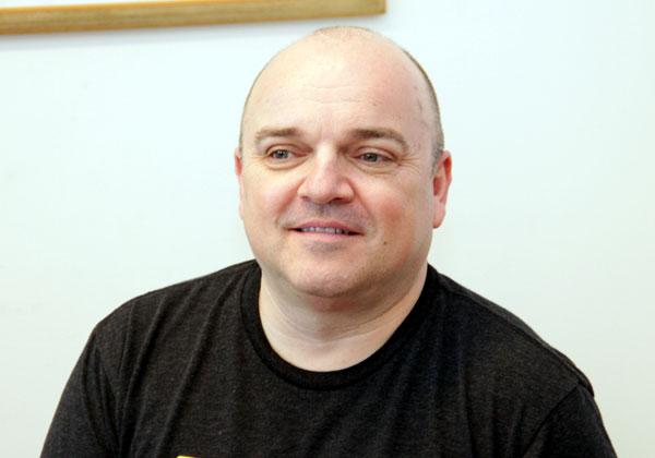 """רני אסנת, סמנכ""""ל השיווק של אקווה סקיוריטי. צילום: יניב פאר"""