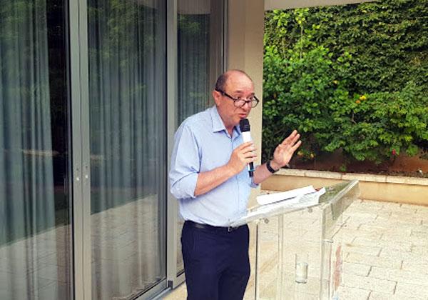סרג'יו ויניצקי, הנציג של כנס ותערוכת Smart City בישראל. צילום: פלי הנמר