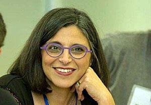 אורלי סימון, ראשת אגף שירותי קהל בספרייה הלאומית. צילום: מקסים דינשטיין