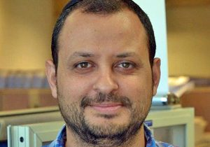 """ציון סמולר, סמנכ""""ל הטכנולוגיות של עיריית ירושלים. צילום: יח""""צ"""