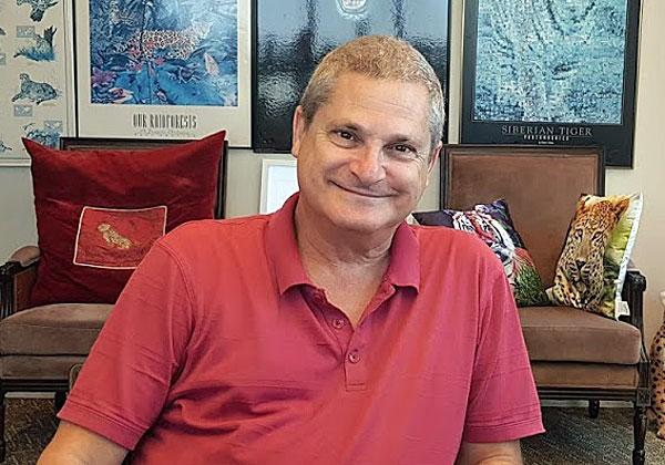בא לבקר במאורת הנמר: אהוד ברץ, מנהל SUSE ישראל. צילום: פלי הנמר