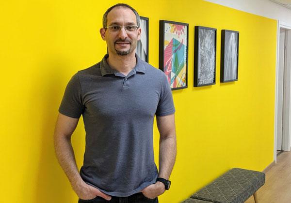 גיא איזדורפר, ממייסדי שילדוקס. צילום פרטי