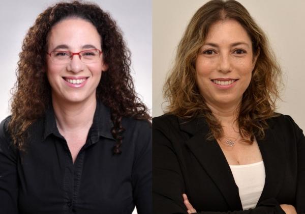"""המצולמות בתמונה מימין לשמאל: אורית סיגל-ודעי, VP Enterprise PMO and Processes ב-Trax; פנינה זינגר, מייסדת ומנהלת מח' ניהול פרויקטים ב-P.Z. Projects. צילום: יח""""צ"""