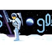 """גוגל דודל: """"אתם ואנחנו, תושבי כדור הארץ המדהים, עשינו זאת!"""""""