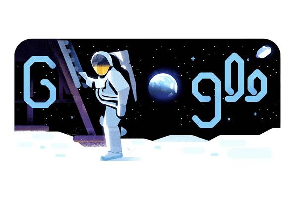 """""""צעד קטן לאדם, צעד גדול לאנושות"""". הדודל של גוגל"""