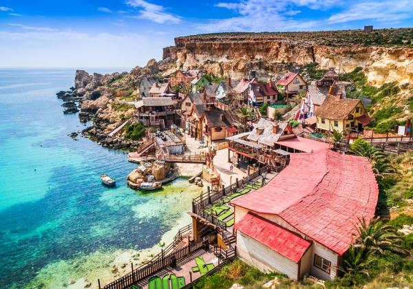 האי מלטה - נופים, כפרים ציוריים, וגן עדן רגולטורי לבלוקצ'יין. צילום: BigStock