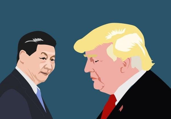 דונלד טראמפ ושי ג'ינפינג. פגישה שהולידה הפוגה. איור אילוסטרציה: BigStock