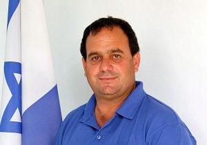 """אייל בלום, ראש המועצה האזורית הערבה התיכונה. צילום: יח""""צ"""