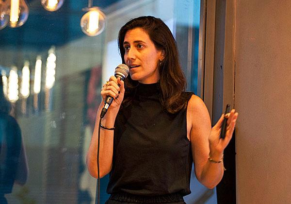 """ניצן גל, מנכ""""לית ומייסדת שותפה של Clique.ai. צילום: שי גבריאלי"""