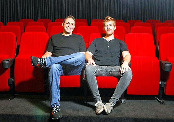 מייסדי מאנדיי, ערן זינמן (מימין) ורועי מן. צילום: שלומי יוסף