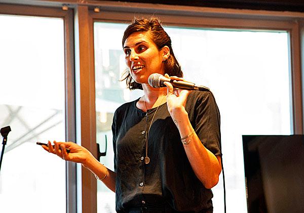 "טל פרנס, מייסדת ומנכ""לית אוקפי. צילום: שי גבריאלי"