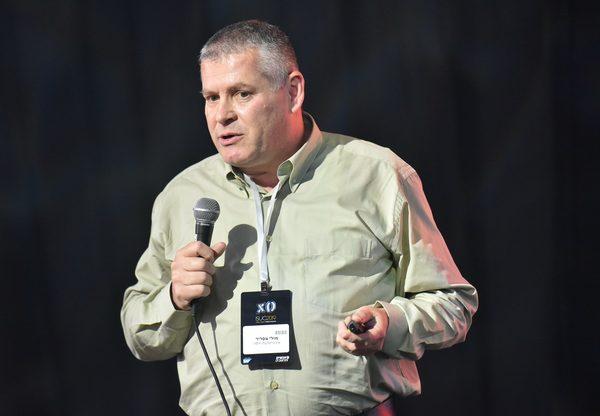 מולי צפריר, ראש אגף מחשוב ומערכות מידע באוניברסיטת חיפה במסלול SAP S/4HANA Move בכנס סאפ. צילום: ניב קנטור
