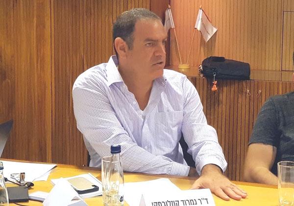 ד''ר נמרוד קוזלובסקי, שותף וראש מחלקת טכנולוגיה ורגולציה, הרצוג פוקס נאמן. צילום: פלי הנמר