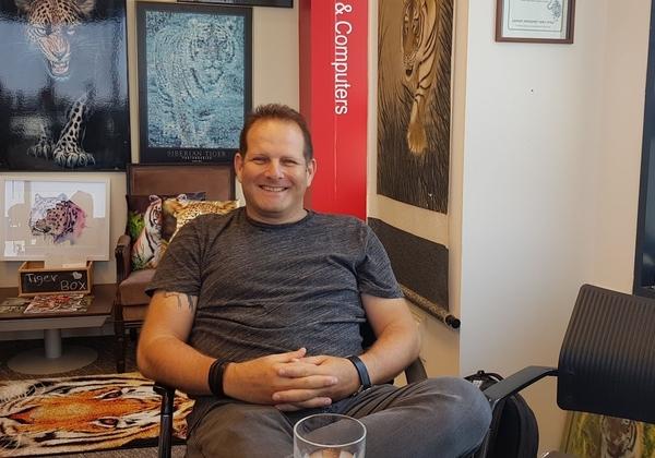 """צחי וייספלד, מנכ""""ל תוכנית Ignite, אקסלרטור הסטארטאפים החדש של אינטל. צילום: פלי הנמר"""