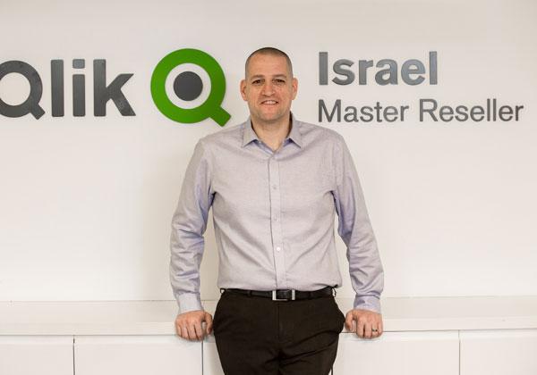 """אופיר אייזיק, סמנכ""""ל המכירות של Qlik Israel. צילום: רן ברגמן"""