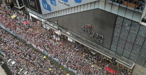 המחאה החברתית בהונג קונג. צילום: BigStock
