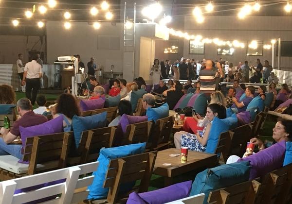 עובדי ולקוחות מטריקס באירוע סינמטריקס. צילום: הדק צדקה חזן