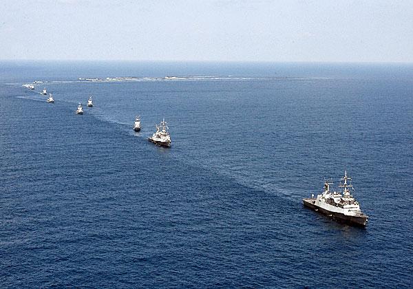 """ספינות חיל הים. צילום: דו""""צ, מתוך ויקיפדיה"""
