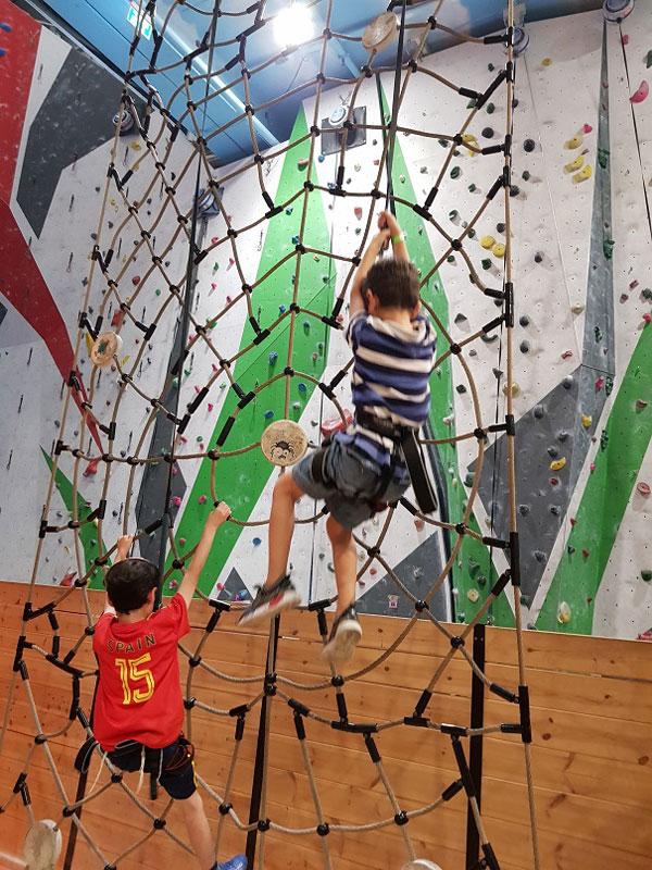 הבנים מטפסים... צילום: דמייאן