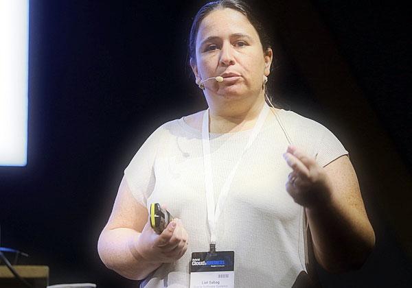 ליאת סבג, מומחית ניהול מידע ופתרונות ענן באורקל ישראל. צילום: ניב קנטור