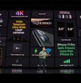 החגיגה הגדולה השנתית של אפל: ברוך הבא, iPhone 11