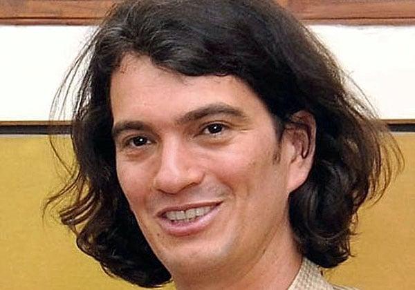 """אדם נוימן, יו""""ר WeWork. צילום: מתוך ויקיפדיה"""