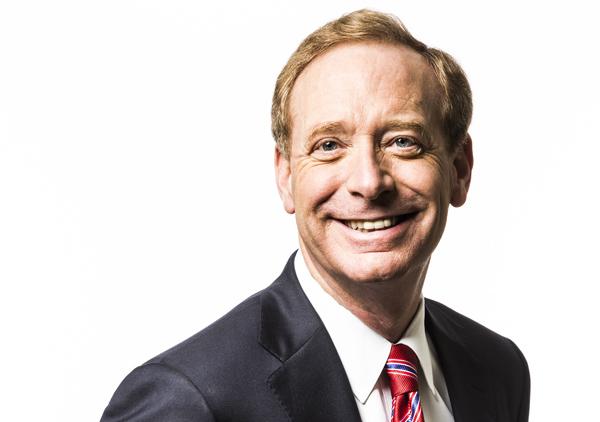 בראד סמית', נשיא ומנהל החטיבה המשפטית, מיקרוסופט. צילום: מיקרוסופט