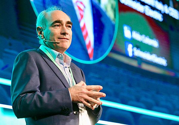 אלדו קולומבי, מנהל אזורי בשניידר אלקטריק. צילום: ניב קנטור