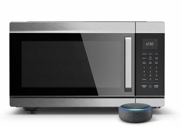 תנור חכם בשליטת אלקסה. ה-Amazon Smart Oven. צילום: אמזון