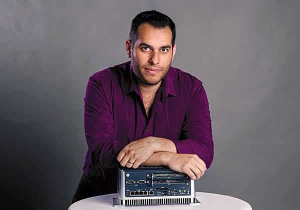 ליאור עטרת, מנהל פעילות ישראל בחטיבת הדיגיטל של ג'נרל אלקטריק. צילום: ענבל מרמרי