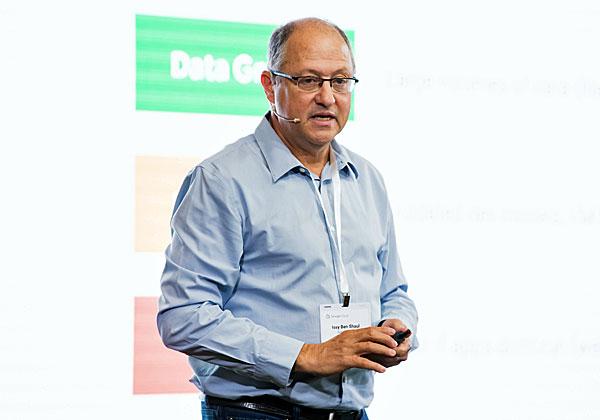 איסי בן שאול, מנהל פיתוח בגוגל קלאוד ומייסד ולוסטרטה. צילום: תומר פולטין, יש אווירה