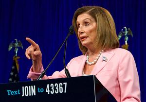 שיכרות או סרטון דיפ פייק מזויף? יושבת ראש בית הנבחרים האמריקני, הדמוקרטית ננסי פלוסי. צילום: BigStock