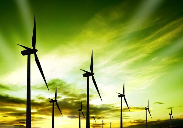 טורבינות רוח לאנרגיה מתחדשת, בדרך לגוגל. צילום אילוסטרציה: BigStock