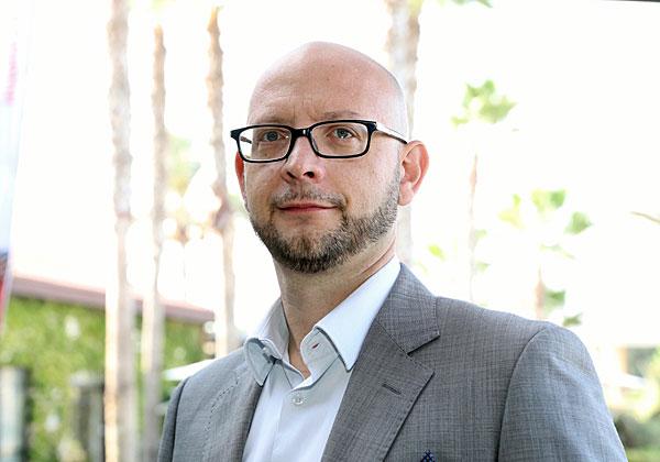 """דיוויד גרוט, סמנכ""""ל הטכנולוגיות של פייראיי לאזור EMEA. צילום: ניב קנטור"""