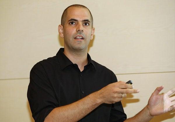 כפיר הומרי, מנהל הפריסייל בישראל למוצרי האבטחה של מיקרו פוקוס. צילום: ניב קנטור