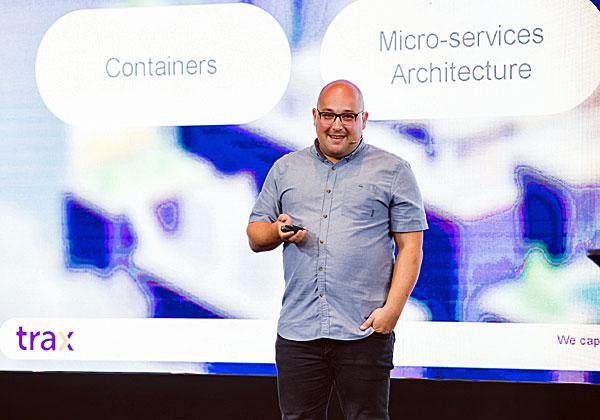מארק סרדזה, מנהל תשתיות IT בטראקס. צילום: תומר פולטין, יש אווירה