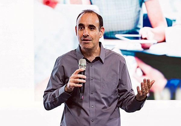 בועז מעוז, מנהל פעילות הענן של גוגל בישראל. צילום: תומר פולטין, יש אווירה