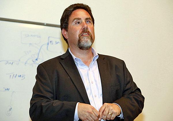 מייקל מיצ'לזק, מנהל מוצר ארקסייט מבית מיקרו פוקוס. צילום: ניב קנטור