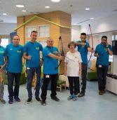 קבוצת כנס ועמותת קשת המשאלות בפעילות למען ילדים חולים