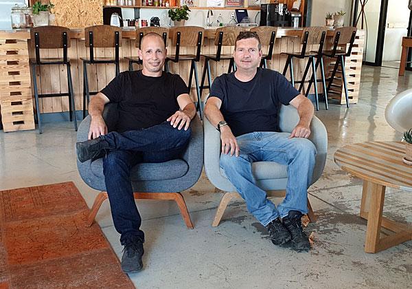 """מימין: יואב ויינשטיין וערן סינבר, מייסדי יורן אימג'ינג. צילום: יח""""צ"""