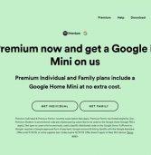 ספוטיפיי במבצע למנויי פרימיום: מכשיר Google Home Mini במתנה